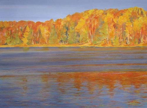 Archived Paintings - Autumn Reflections 16x20