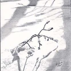 Landscapes & Still Life - Big Load, 4x4, framed 8x8, $95