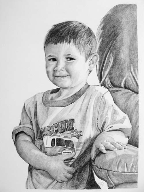 Drawings - Cameron, 15x24