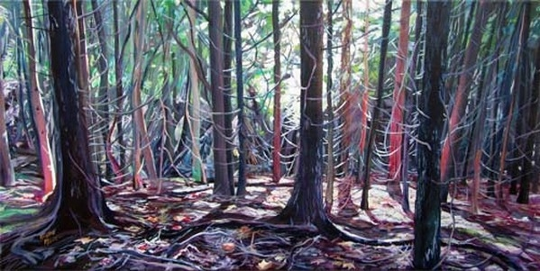 Archived Paintings - Cedar Secrets, 18x36
