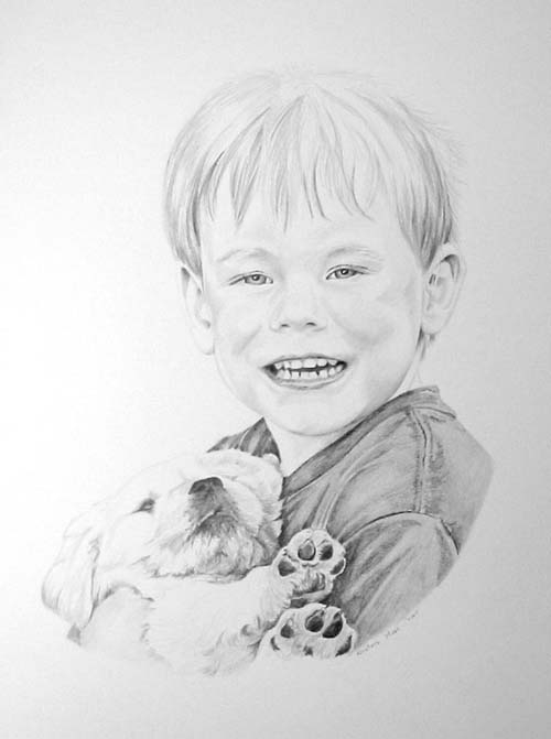 Illustrations - Darcy and Clover, 15x24