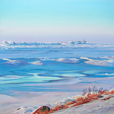 Archived Paintings - Icy Warm Chantry, 16x16