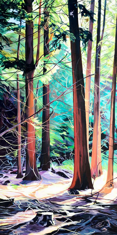 Archived Paintings - Illuminations, 24x48