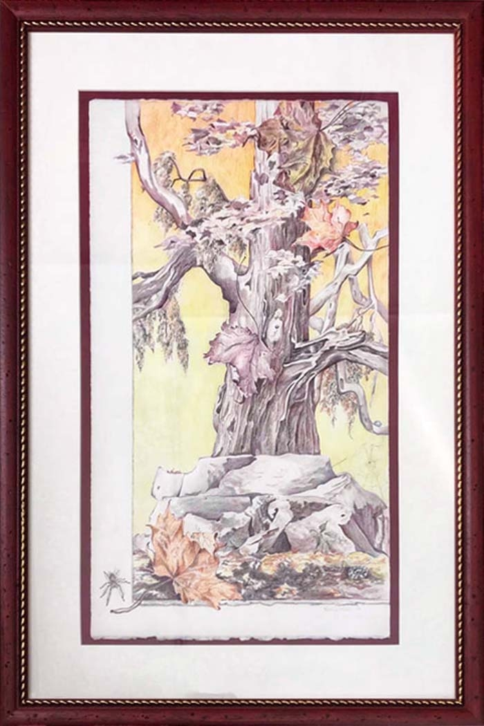 Landscapes & Still Life - Skinner's Ancients, 20x30 framed, $420