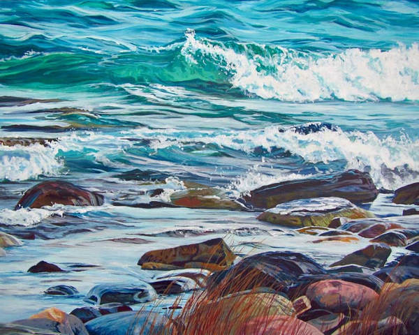 Archived Paintings - Timeless Green, 30x40
